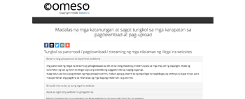 Download & Upload Rights FAQ (Tagalog)